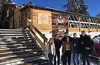The B.H.M.S. students participated at the WEF in Davos