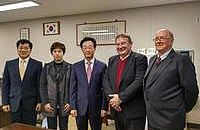 A fruitful visit of B.H.M.S. in South Korea