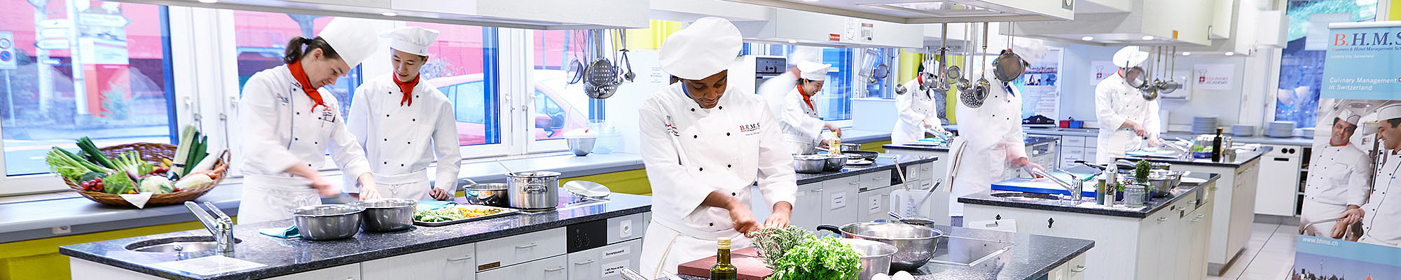 Study Culinary Arts at B.H.M.S. Lucerne