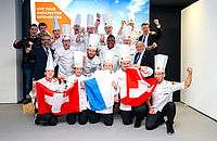 A Gold Medal for the B.H.M.S. Chef Shaun Leonard and his team at the Culinary World Cup 'EXPOGAST' 2018