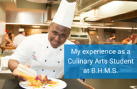 My experience as a Culinary Arts student at B.H.M.S.