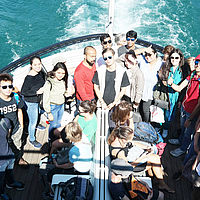 Lake Lucerne - B.H.M.S. Students Boat trip