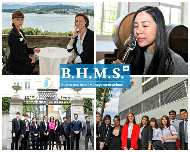 B.H.M.S. Lucerne - students get prepared for starting a successful career life