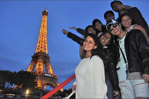 B.H.M.S. students enjoy their free time by traveling Switzerland
