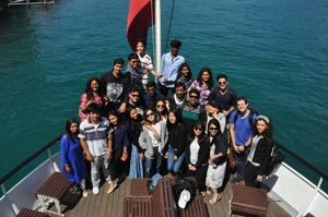B.H.M.S. Students - Visit Switzerland - Boat Trips in Lake Lucerne