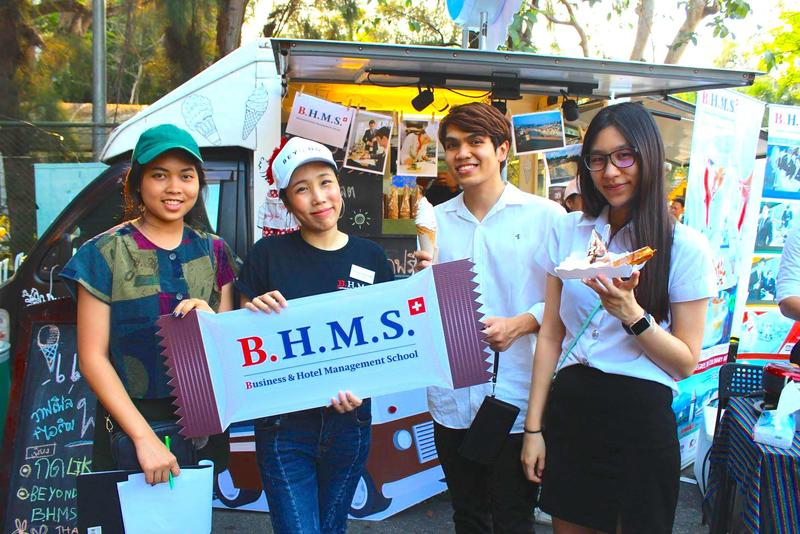 Thammasat University's event in Thailand with B.H.M.S.